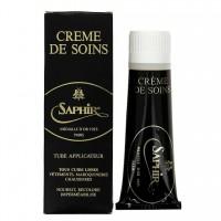 1023 Крем для гладкой кожи, тюбик с губкой Creme De Soins Saphir Medaille